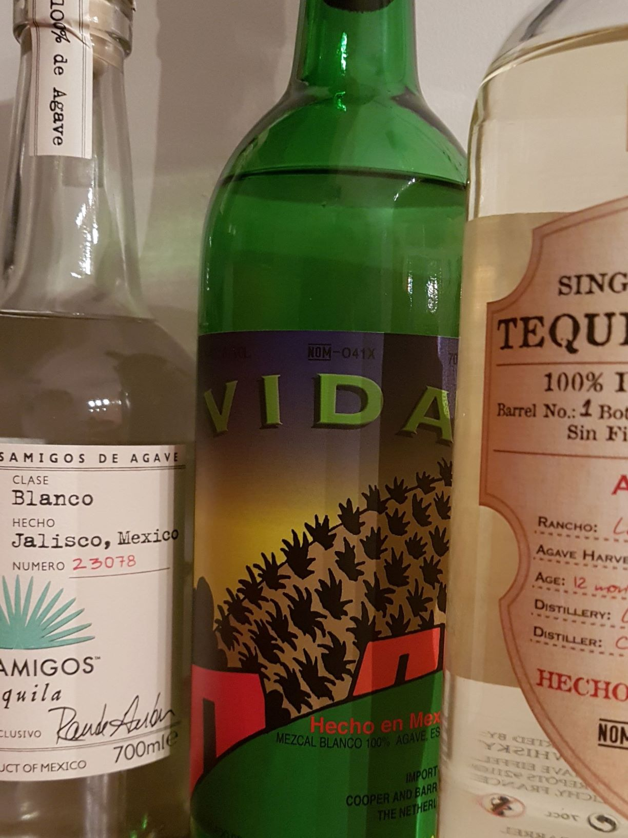 tequila en mezcal Rien proeverij