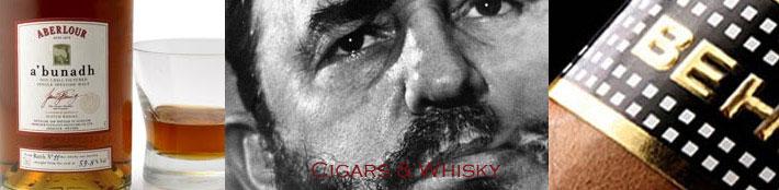 Whisky en sigarenproeverij